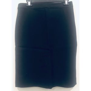 J. Crew Black Wool Pencil Skirt